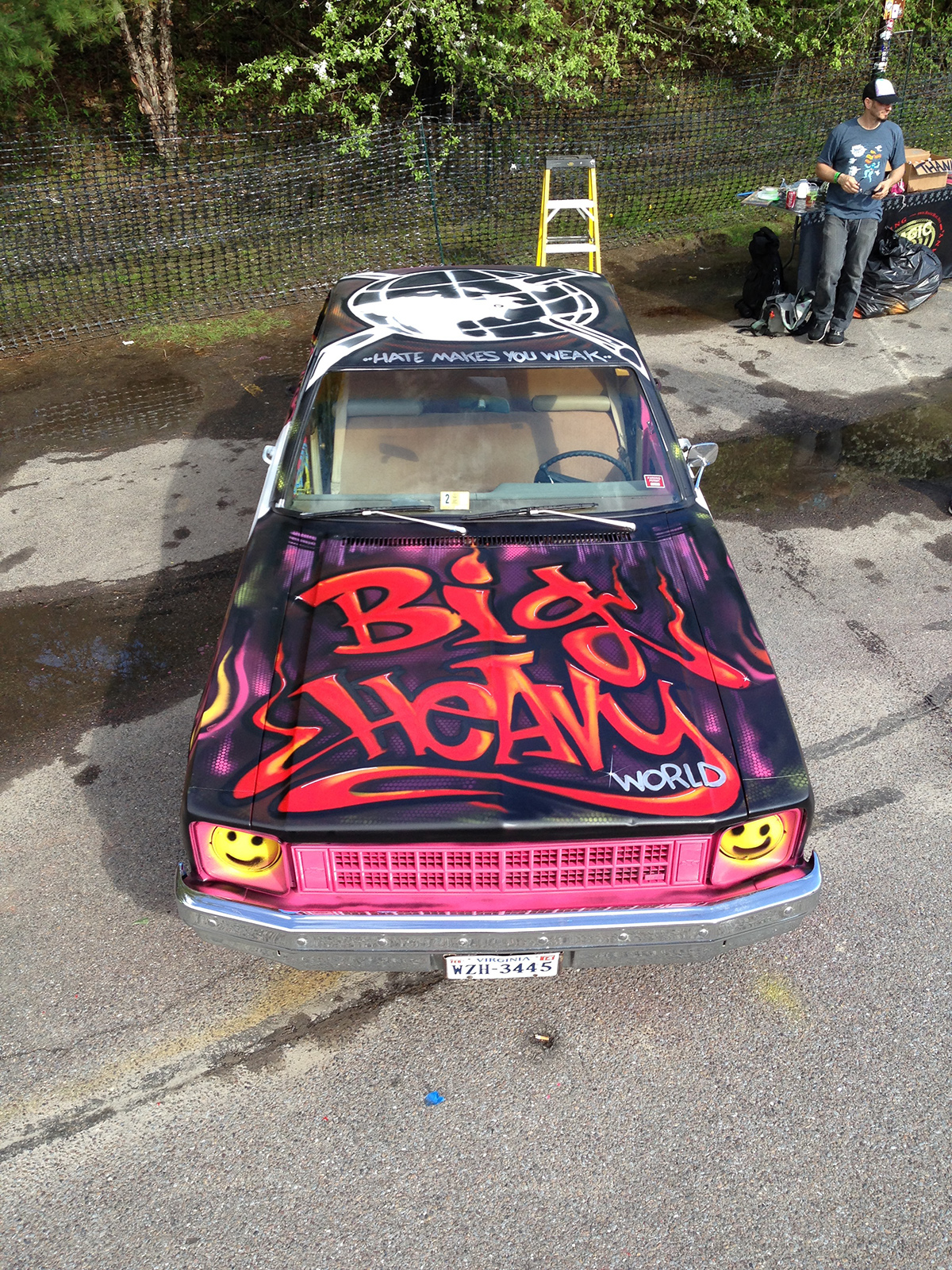 Big Heavy World Demolition Derby Car - 2015