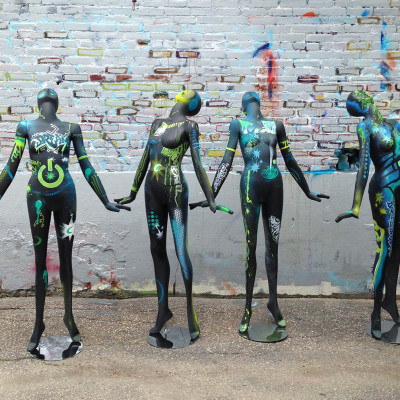 Magic Hat Dream Machine Mannequins - 2014