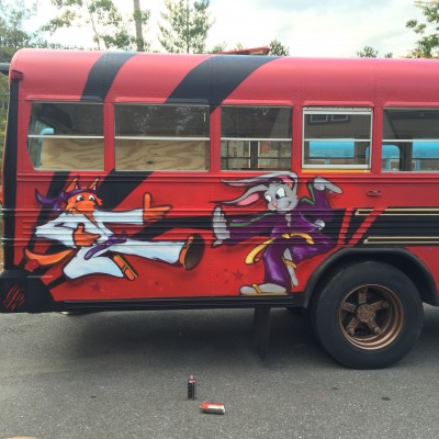 VT Ninja Warrior Bus - 2015