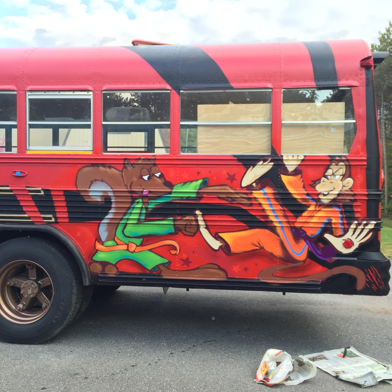 VT Ninja Warrior Bus - 2015