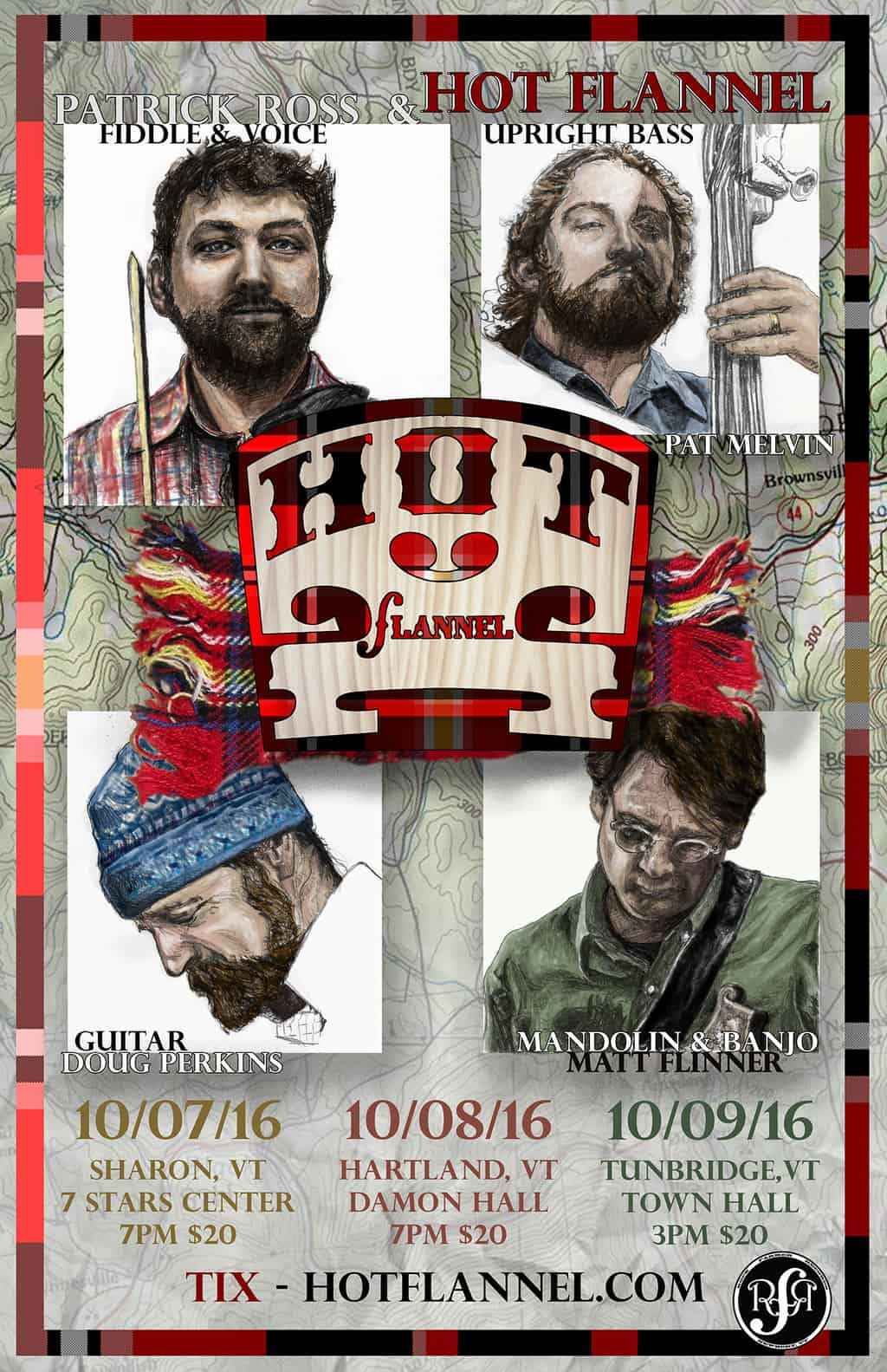 Hot Flannel – Posters