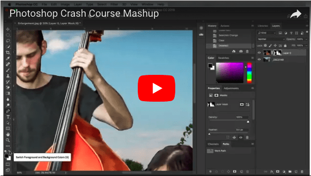 Photoshop Crash Course Mashup