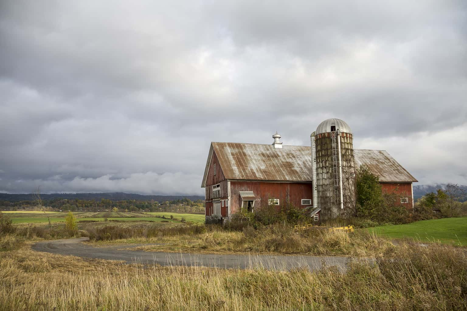 Farm in Fall, Newbury VT